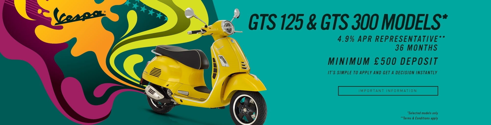 Vespa Finance Offer