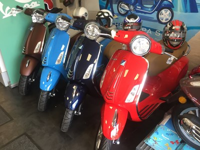 VESPA PRIMAVERA FINANCE OFFER